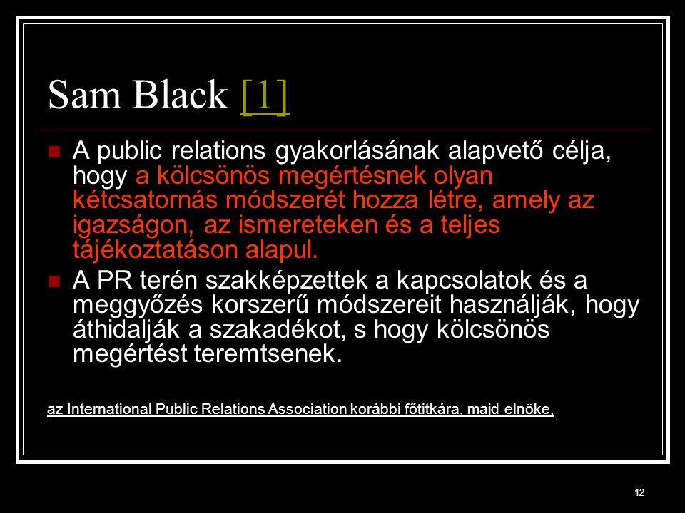 Sam Black [1]